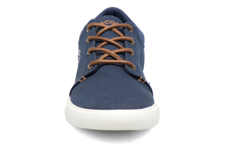 Baskets Lacoste BAYLISS VULC 317 2 Bleu vue portées chaussures
