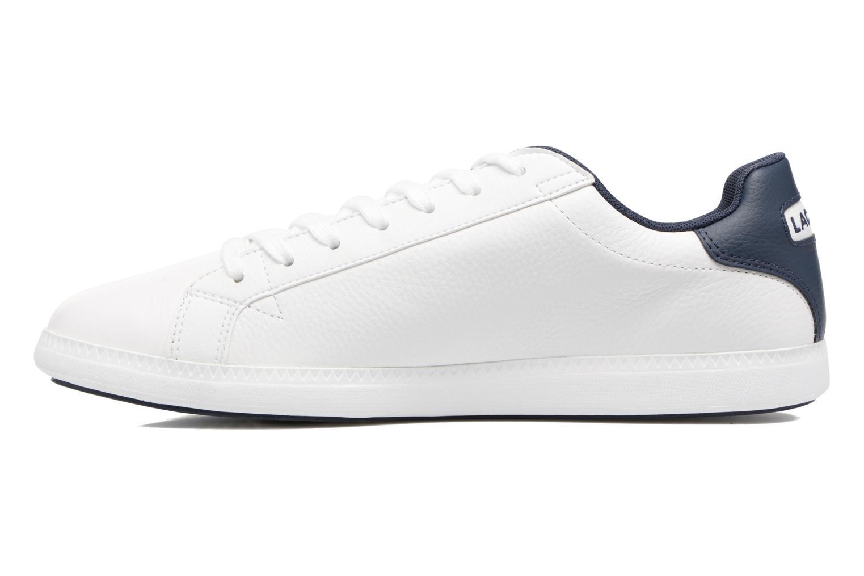 Sneakers Lacoste GRADUATE LCR3 SPM Wit voorkant