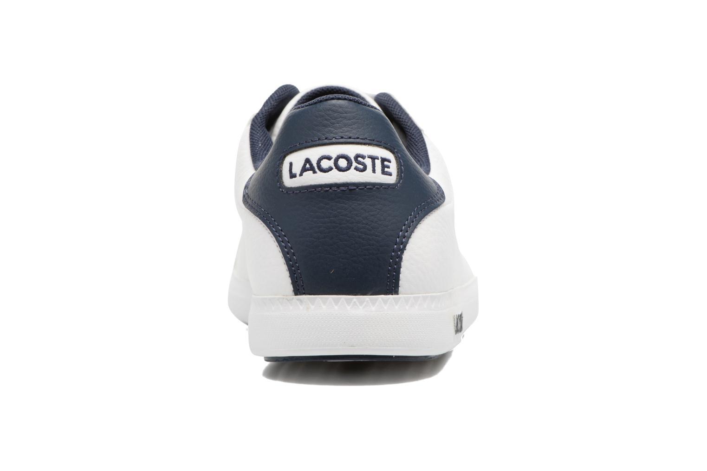 Sneakers Lacoste GRADUATE LCR3 SPM Wit rechts