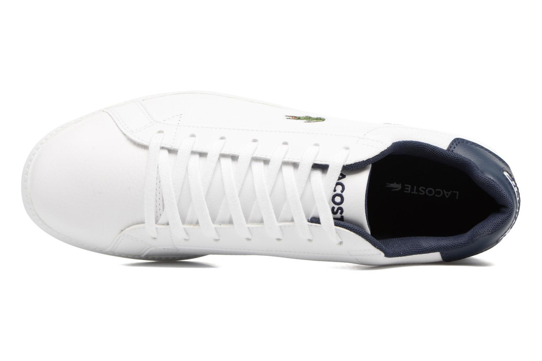 Sneakers Lacoste GRADUATE LCR3 SPM Wit links