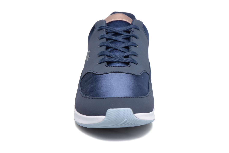 Baskets Lacoste Chaumont Lace 317 1 Bleu vue portées chaussures