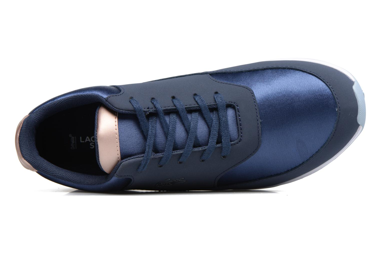 Baskets Lacoste Chaumont Lace 317 1 Bleu vue gauche