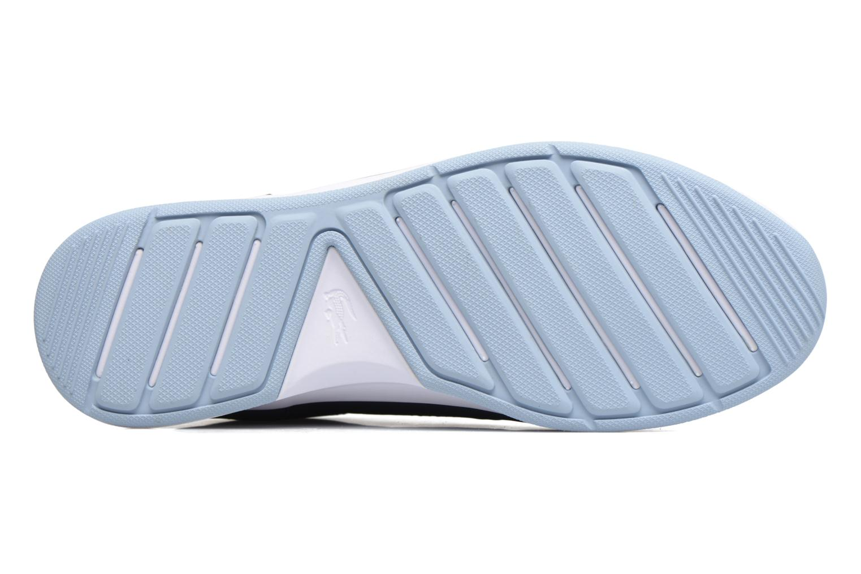 Baskets Lacoste Chaumont Lace 317 1 Bleu vue haut