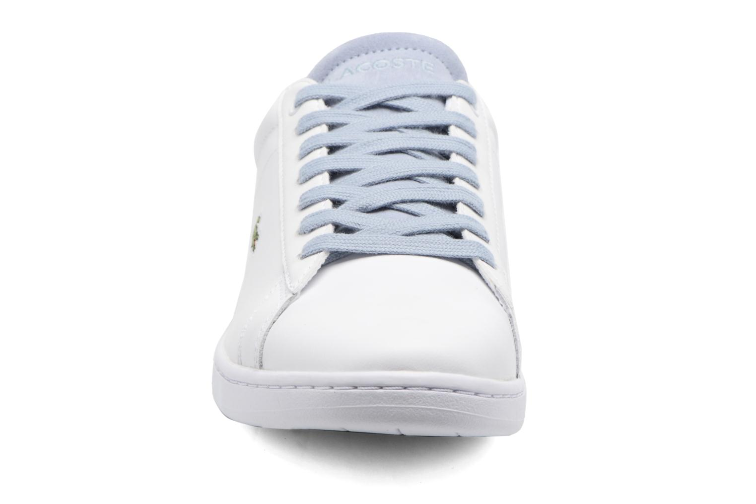 Baskets Lacoste Carnaby Evo 317 1 Blanc vue portées chaussures