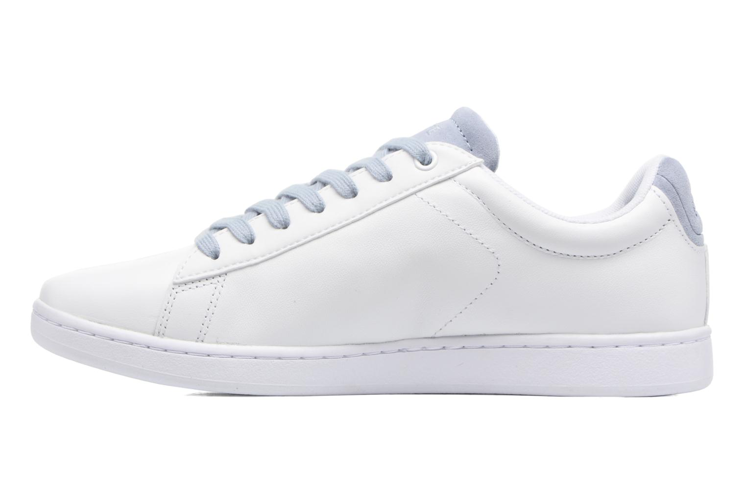 Baskets Lacoste Carnaby Evo 317 1 Blanc vue face