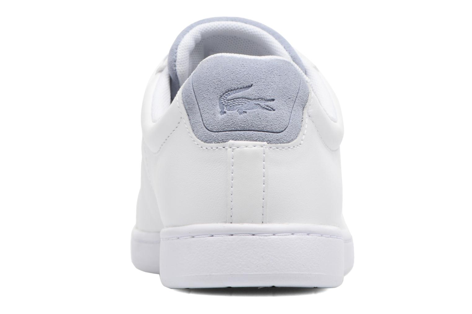Baskets Lacoste Carnaby Evo 317 1 Blanc vue droite