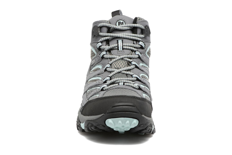 Chaussures de sport Merrell Moab 2 Mid Gtx Gris vue portées chaussures