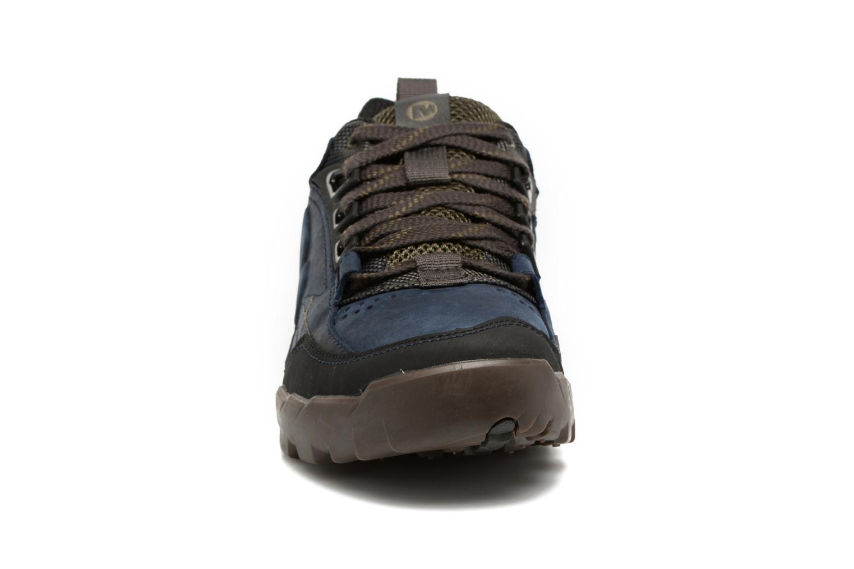 Chaussures de sport Merrell Annex Trak Low Bleu vue portées chaussures