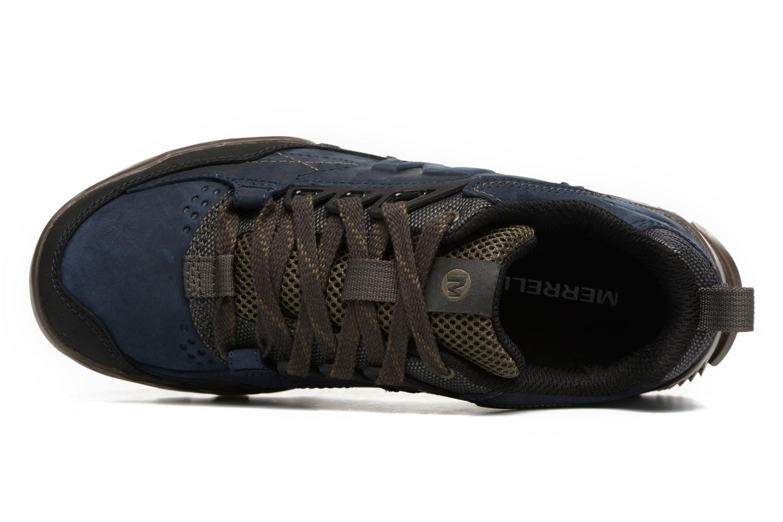 Chaussures de sport Merrell Annex Trak Low Bleu vue gauche