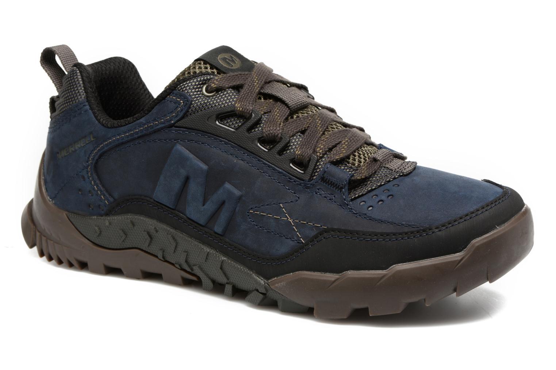 Chaussures de sport Merrell Annex Trak Low Bleu vue détail/paire