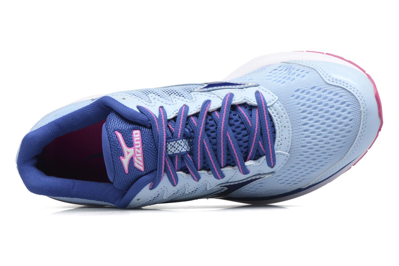 Zapatillas de deporte Mizuno WAVE RIDER 20 (W) Azul vista lateral izquierda