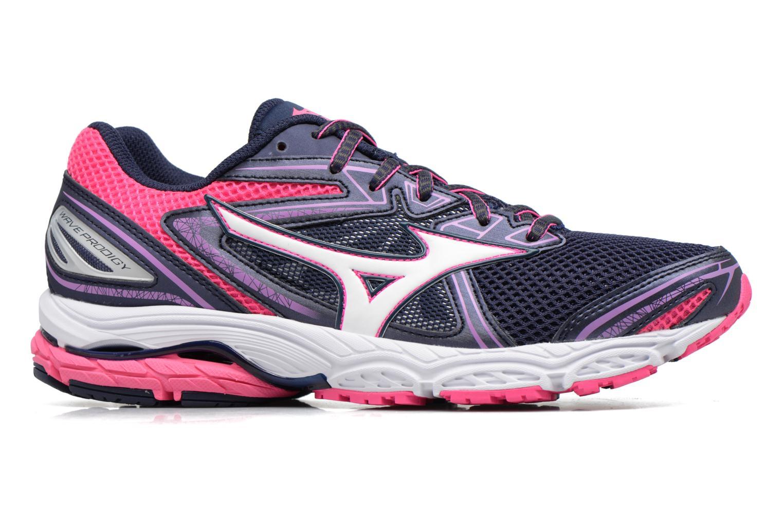 Chaussures de sport Mizuno WAVE PRODIGY (W) Violet vue derrière