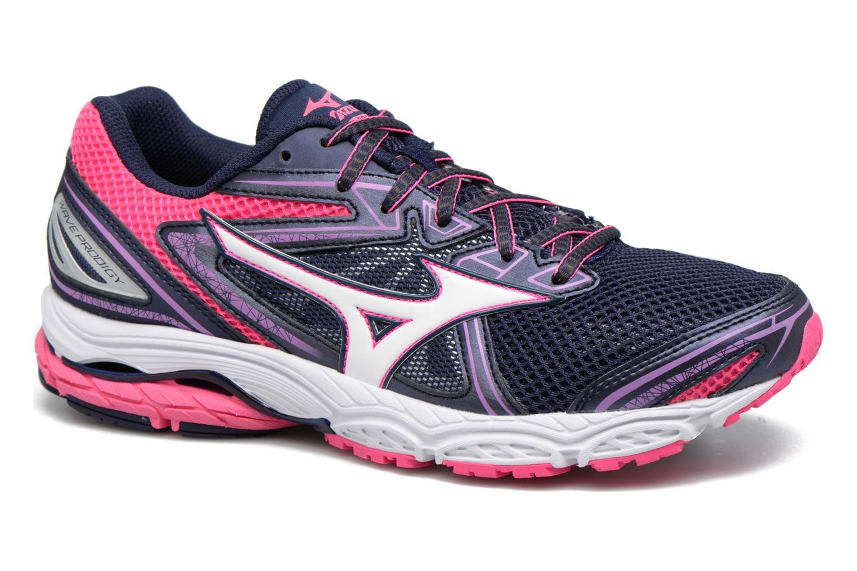 Chaussures de sport Mizuno WAVE PRODIGY (W) Violet vue détail/paire