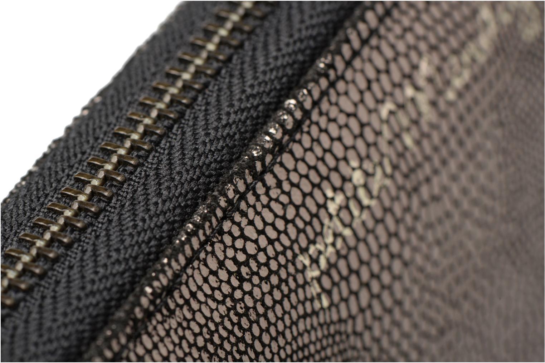 Petite Maroquinerie Petite mendigote Portefeuille Snake Galia Argent vue gauche