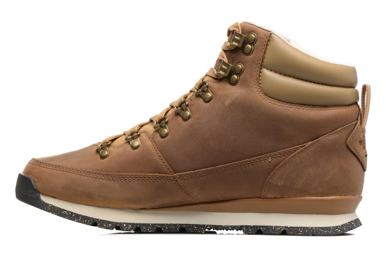 Chaussures de sport The North Face Back-To-Berkeley Redux Leather Marron vue face