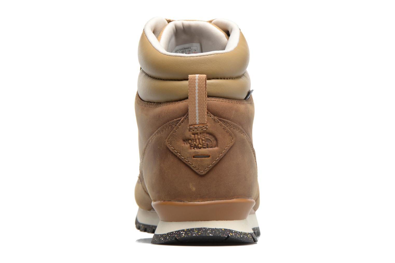 Chaussures de sport The North Face Back-To-Berkeley Redux Leather Marron vue droite