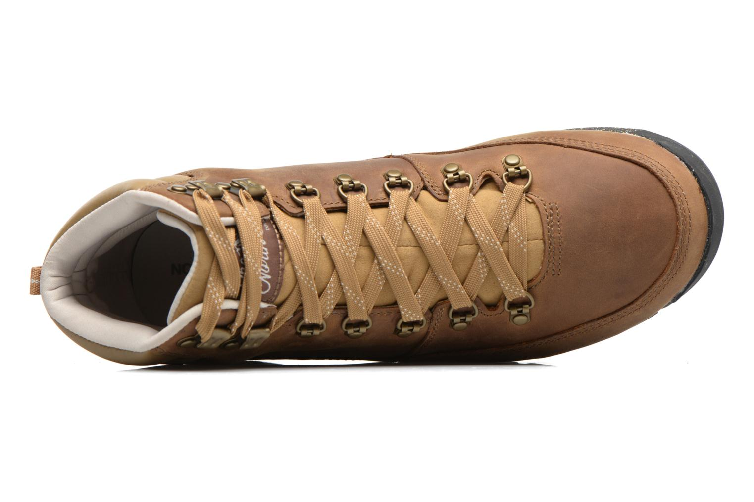 Scarpe sportive The North Face Back-To-Berkeley Redux Leather Marrone immagine sinistra