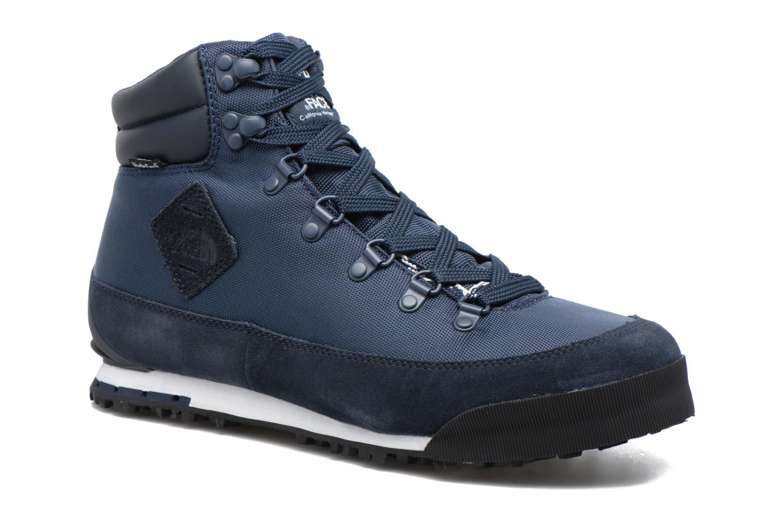 Chaussures de sport The North Face Back-To-Berkeley NL Bleu vue détail/paire