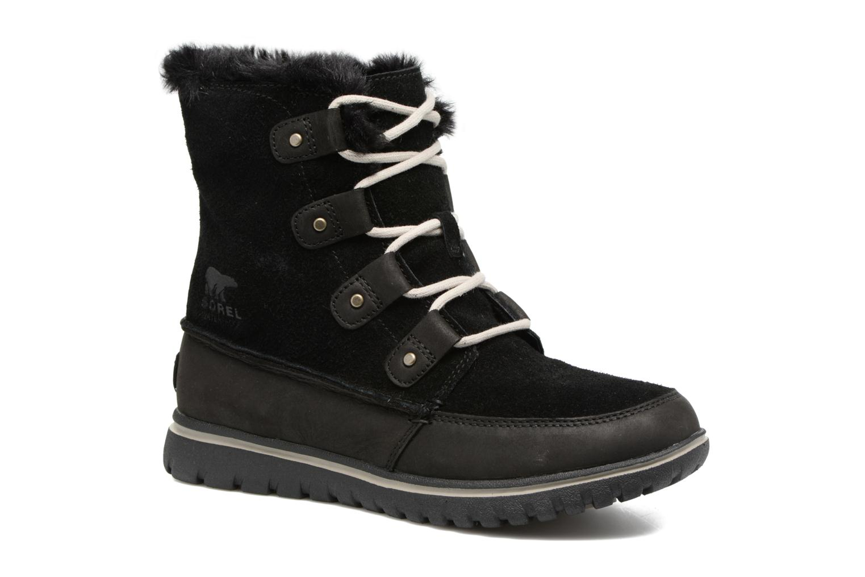 Chaussures de sport Sorel Cozy Joan Noir vue détail/paire
