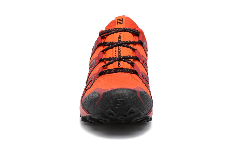 Chaussures de sport Salomon Speedcross Vario 2 Gtx Rouge vue portées chaussures