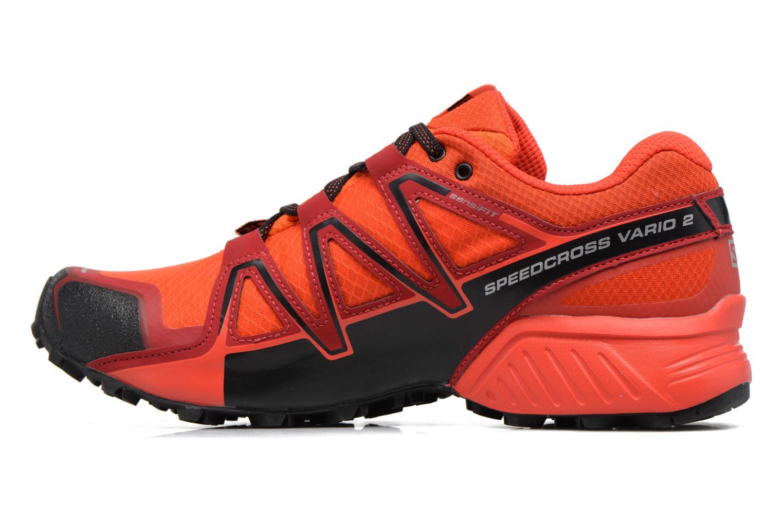 Chaussures de sport Salomon Speedcross Vario 2 Gtx Rouge vue face