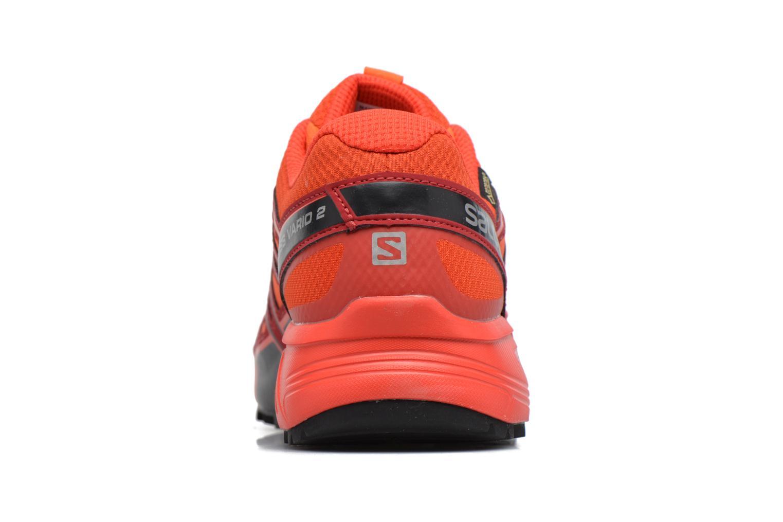 Chaussures de sport Salomon Speedcross Vario 2 Gtx Rouge vue droite