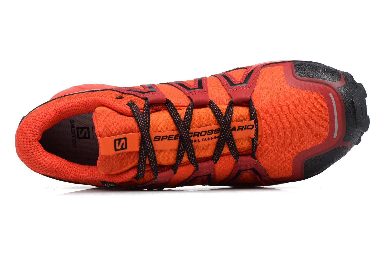 Chaussures de sport Salomon Speedcross Vario 2 Gtx Rouge vue gauche