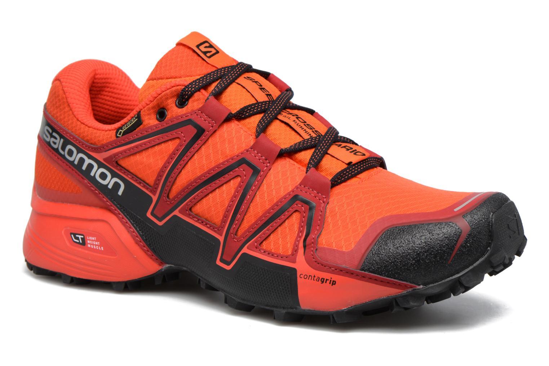 Chaussures de sport Salomon Speedcross Vario 2 Gtx Rouge vue détail/paire