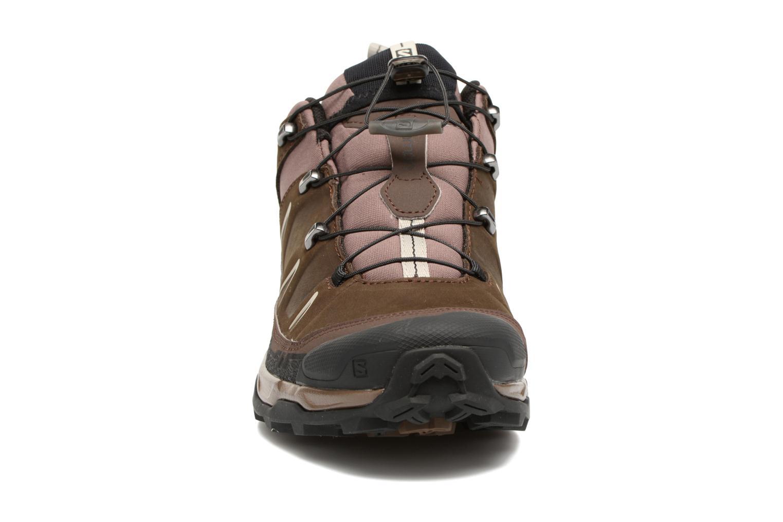 Chaussures de sport Salomon X Ultra Ltr Marron vue portées chaussures