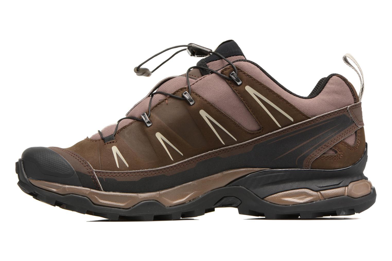 Chaussures de sport Salomon X Ultra Ltr Marron vue face