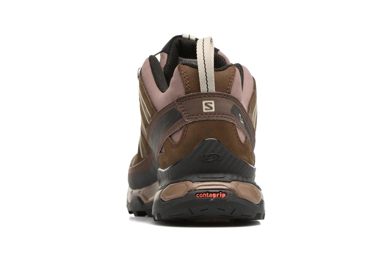 Chaussures de sport Salomon X Ultra Ltr Marron vue droite