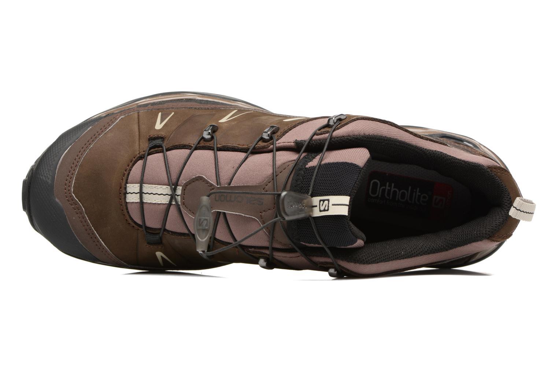Chaussures de sport Salomon X Ultra Ltr Marron vue gauche