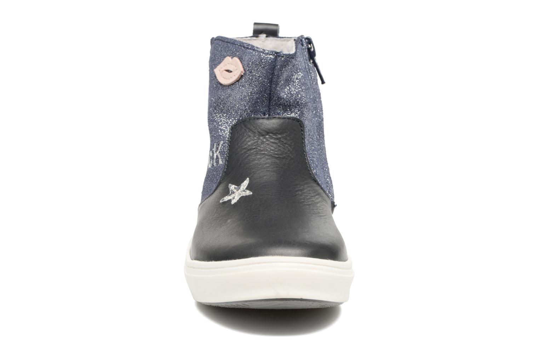 Bottines et boots Minibel Nancy Bleu vue portées chaussures