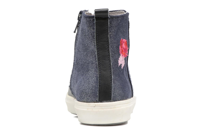 Bottines et boots Minibel Nancy Bleu vue droite