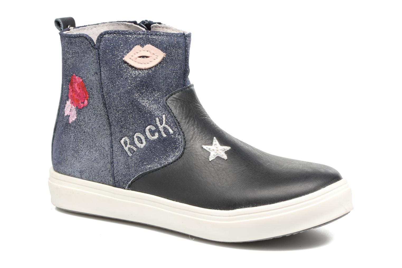 Bottines et boots Minibel Nancy Bleu vue détail/paire