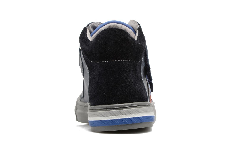 Baskets Minibel Nilan Bleu vue droite