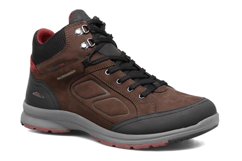 Chaussures de sport Allrounder by Mephisto Cheiron Tex Marron vue détail/paire