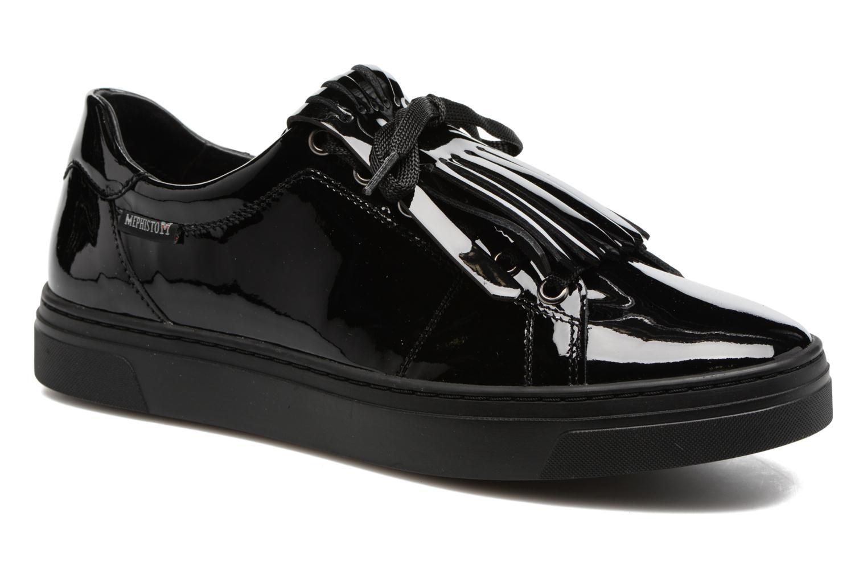 Sneakers Mephisto Arcadia Zwart detail