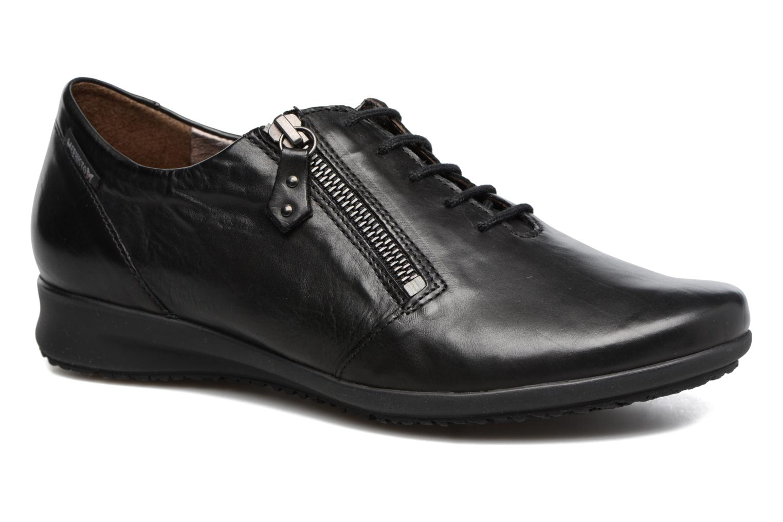 Chaussures à lacets Mephisto Fatima Noir vue détail/paire