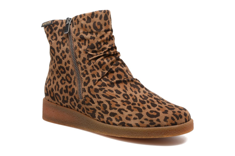 Bottines et boots Mephisto Cassandra Marron vue détail/paire