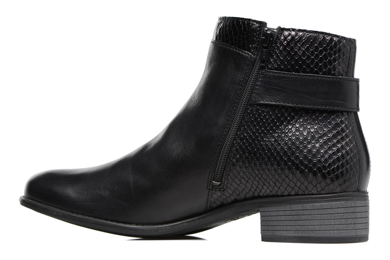 Bottines et boots Mephisto Emeline Noir vue face