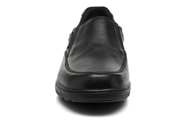 Mocassins Mephisto Davy Noir vue portées chaussures