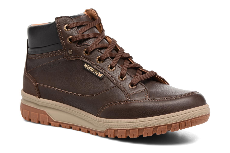 Bottines et boots Mephisto Paddy Marron vue détail/paire