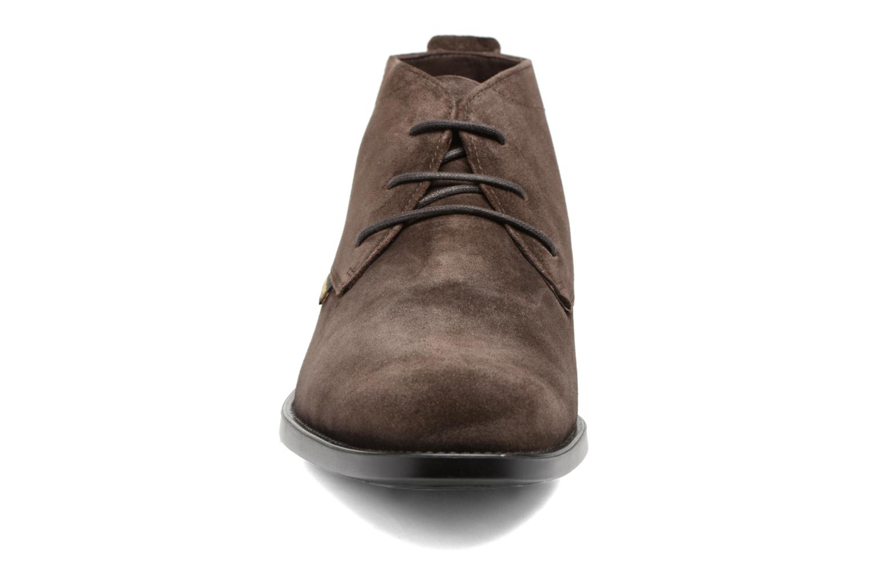 Chaussures à lacets Mephisto Claudio Marron vue portées chaussures