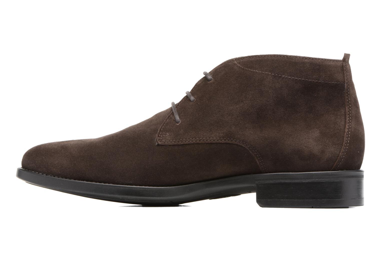 Chaussures à lacets Mephisto Claudio Marron vue face