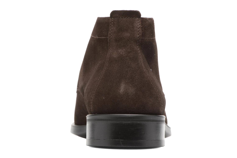 Chaussures à lacets Mephisto Claudio Marron vue droite