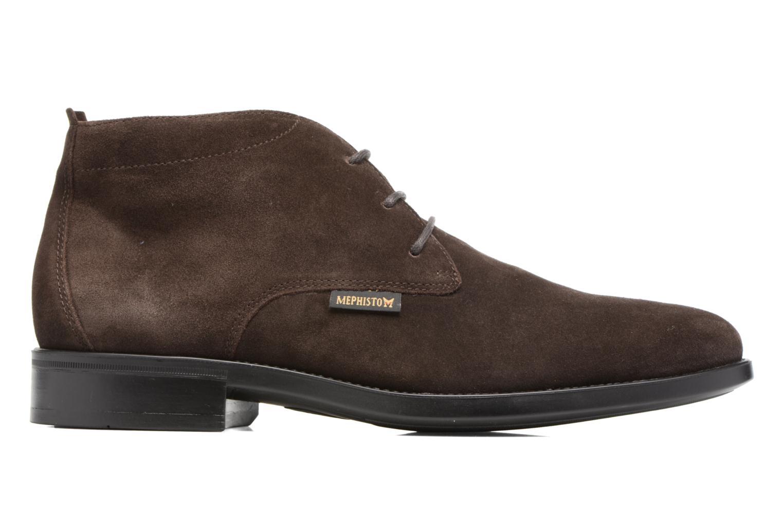 Chaussures à lacets Mephisto Claudio Marron vue derrière