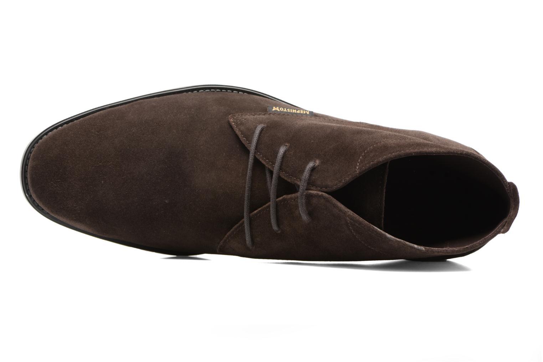 Chaussures à lacets Mephisto Claudio Marron vue gauche