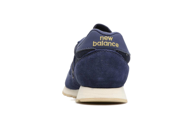 Baskets New Balance WL520 Bleu vue droite