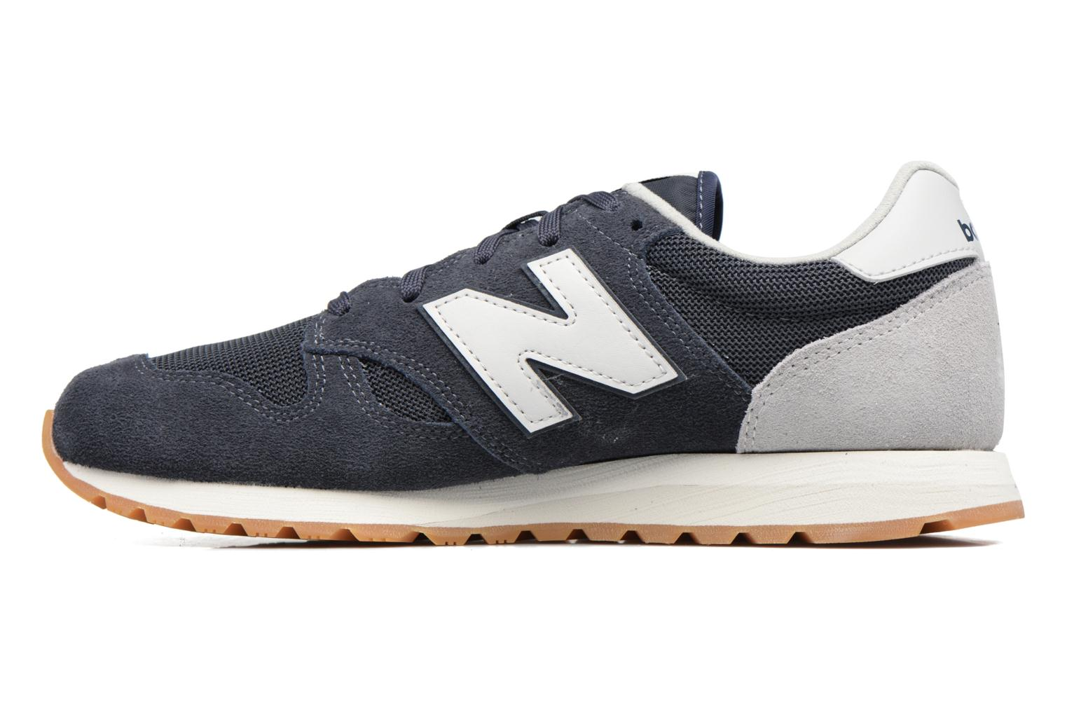 Baskets New Balance U520 Bleu vue face
